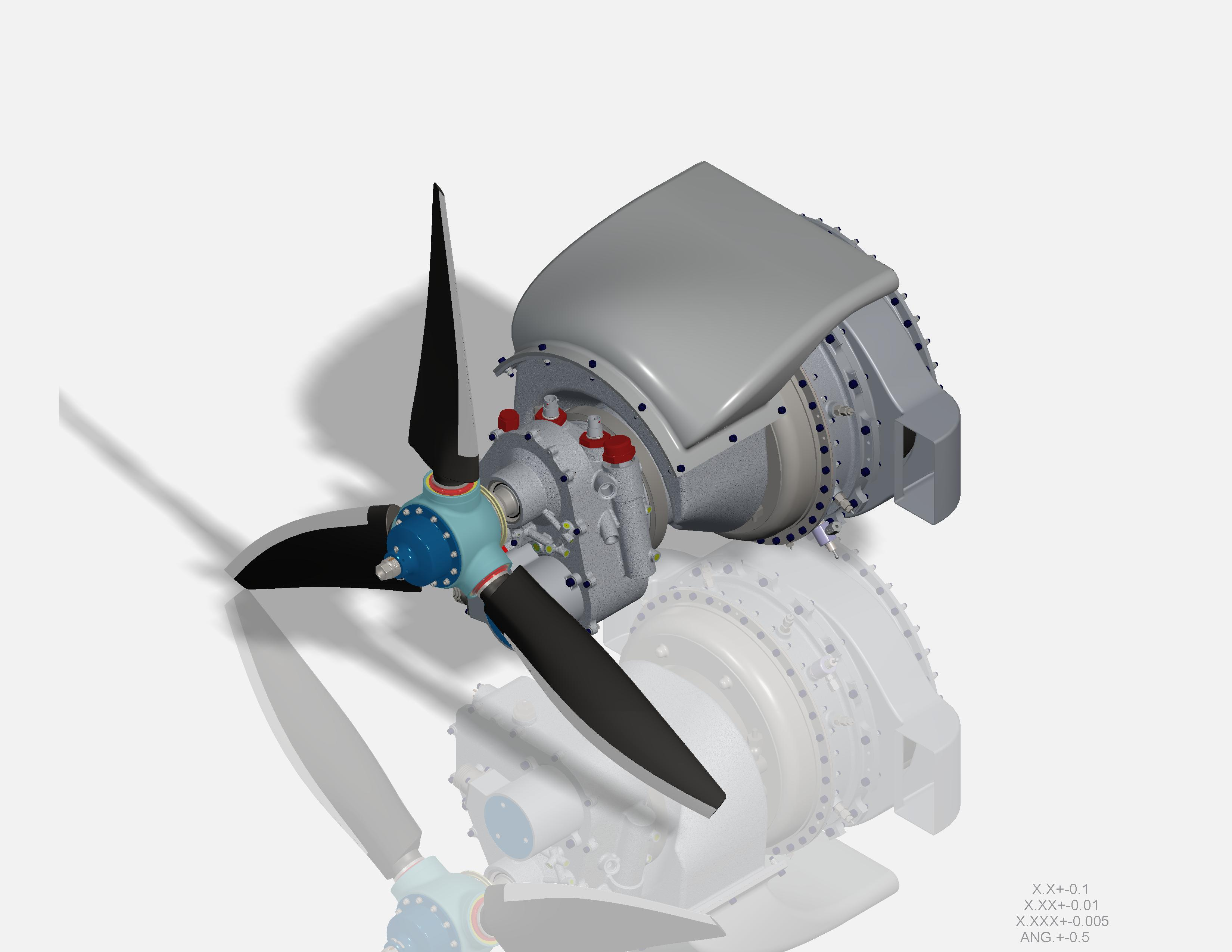 Drone Engine Rendering